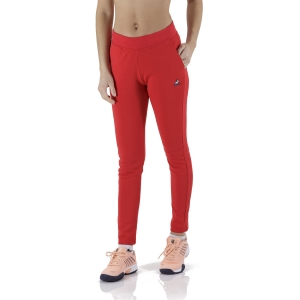 Women's Tennis Pants and Tights Le Coq Sportif Sportstyle Logo Pants  Pur Rouge 2110389