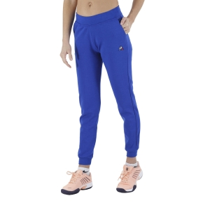 Women's Tennis Pants and Tights Le Coq Sportif Sportstyle Pants  Blue Electro 2110390