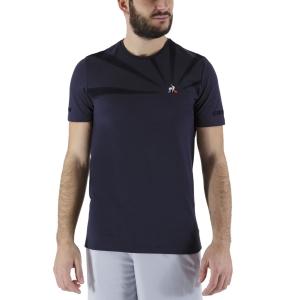 Men's Tennis Shirts Le Coq Sportif Performance Pro TShirt  Sky Captain 2110720