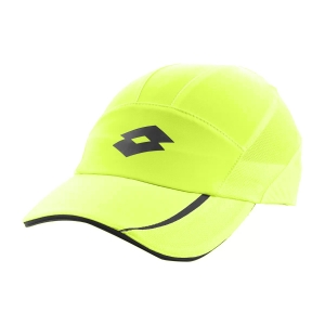 Tennis Hats and Visors Lotto Ace III Cap Woman  Yellow Neon L546721D2