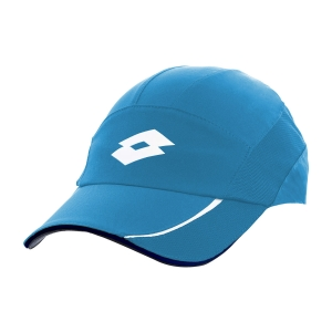 Tennis Hats and Visors Lotto Logo Cap  Blue Bay L546717F3