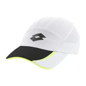 Tennis Hats and Visors Lotto Logo Cap  Bright White/All Black L546711CY