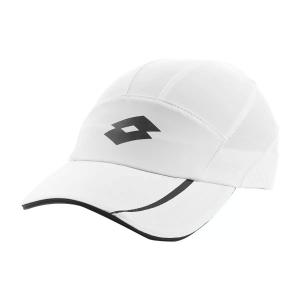 Tennis Hats and Visors Lotto Logo Cap  Bright White L546710F1