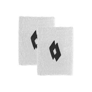 Tennis Wristbands Lotto Logo Small Wristbands  Bright White/All Black 2171091CY