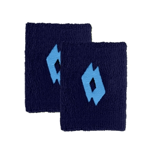 Tennis Wristbands Lotto Logo Small Wristbands  Navy Blue/Scuba Blue 2 21710939B