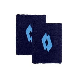 Tennis Wristbands Lotto Logo Wristbands  Navy Blue/Scuba Blue 2 21710939B