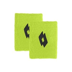 Tennis Wristbands Lotto Logo Small Wristbands  Yellow Neon 2171091D2