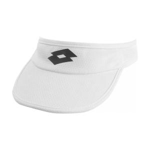 Tennis Hats and Visors Lotto Logo Visor  Bright White/All Black L520711CY
