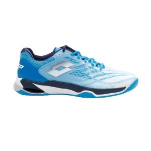 Scarpe Tennis Uomo Lotto Mirage 100 Speed  All White/Navy Blue/Blue Bay 2107327FG