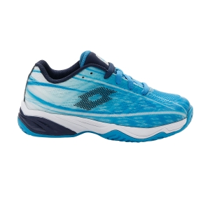 Scarpe Tennis Junior Lotto Mirage 300 All Round Bambino  Blue Bay/Navy Blue/All White 2107467FJ
