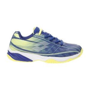 Scarpe Tennis Junior Lotto Mirage 300 All Round Bambino  Sodalite Blue/All White/Yellow Neon 21074687U