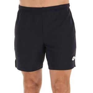 Men's Tennis Shorts Lotto Squadra II 7in Shorts  All Black 2154551CL