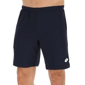 Men's Tennis Shorts Lotto Squadra II 9in Shorts  Navy Blue 2154561CI