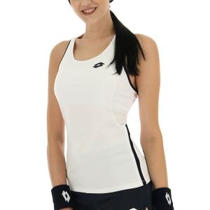 Women`s Tennis Tanks Lotto Squadra II Tank  Bright White 2154330F1