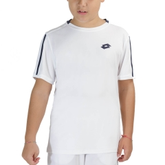 Lotto Squadra II T-Shirt Boys - Bright White