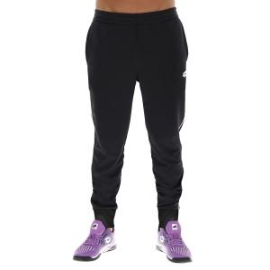 Pantalones y Tights Tenis Hombre Lotto Squadra II Pantalones  All Black 2154581CL