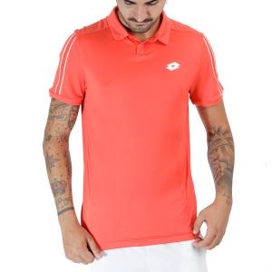 Men's Tennis Polo Lotto Squadra II Polo  Cliff Red 21545429P