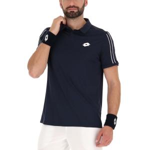 Men's Tennis Polo Lotto Squadra II Polo  Navy Blue 2154541CI