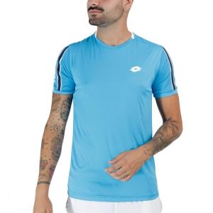 Men's Tennis Shirts Lotto Squadra II TShirt  Blue Bay 2154537F3