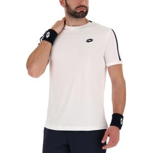 Men's Tennis Shirts Lotto Squadra II TShirt  Bright White 2154530F1
