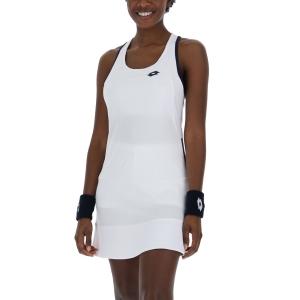 Vestido de Tenis Lotto Squadra II Vestido  Bright White 2154370F1