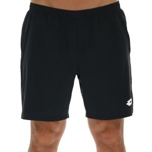 Men's Tennis Shorts Lotto Top Ten 7in Shorts  All Black 2142071CL