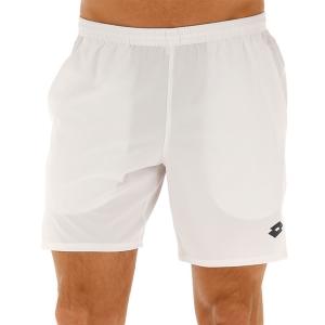 Men's Tennis Shorts Lotto Top Ten 7in Shorts  Bright White 2142070F1