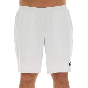 Men's Tennis Shorts Lotto Top Ten II 9in Shorts  Glacier Grey 214205V48