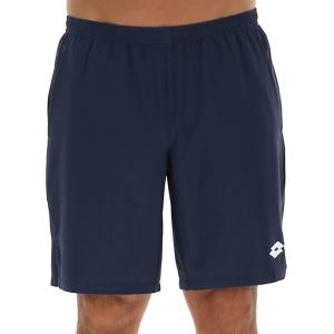 Men's Tennis Shorts Lotto Top Ten II 9in Shorts  Navy Blue 2142051CI