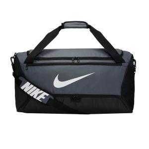 Tennis Bag Nike Brasilia Medium Duffle  Flint Grey/Black/White BA5955026