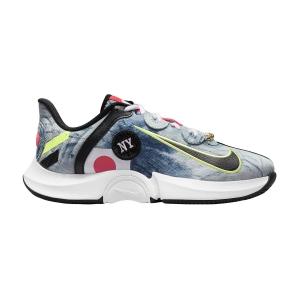 Calzado Tenis Mujer Nike Air Zoom GP Turbo HC Osaka  White/Black/Bright Crimson DC9164100