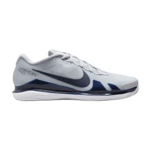 Men`s Tennis Shoes Nike Court Air Zoom Vapor Pro Clay  Pure Platinum/Obsidian White CZ0219007