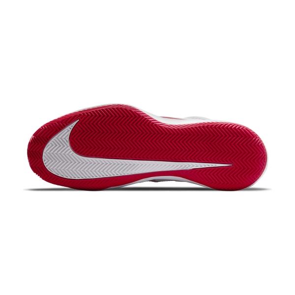 Nike Court Air Zoom Vapor Pro Clay - White/University Red