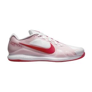 Calzado Tenis Hombre Nike Court Air Zoom Vapor Pro HC  White/University Red CZ0220177