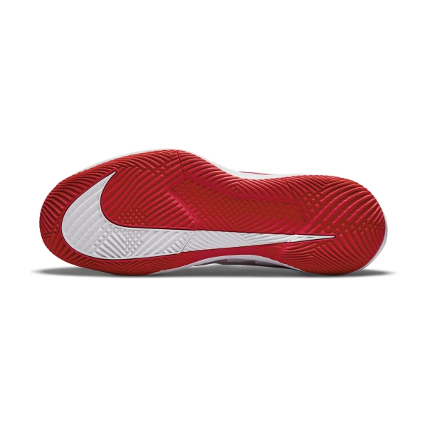 Nike Court Air Zoom Vapor Pro HC - White/University Red