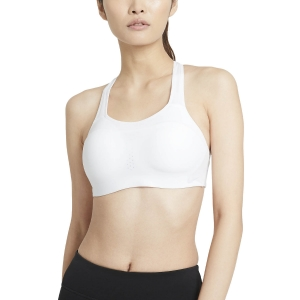 Woman Tennis Underwear Nike Alpha Sports Bra  White/Pure Platinum AJ0340100