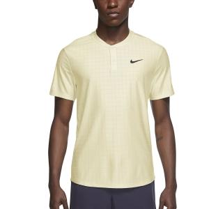 Polo Tenis Hombre Nike Breathe Advantage Polo  Coconut Milk/Black CV2499113