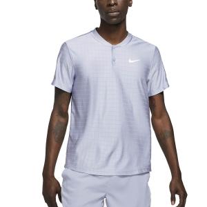 Polo Tennis Uomo Nike Breathe Advantage Polo  Indigo Haze/White CV2499519