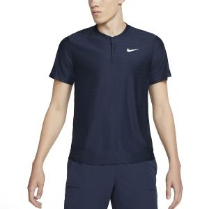 Polo Tennis Uomo Nike Breathe Advantage Polo  Obsidian/White CV2499451