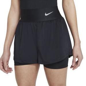 Skirts, Shorts & Skorts Nike Court Advance Classic 2in Shorts  Black/White CV4792011
