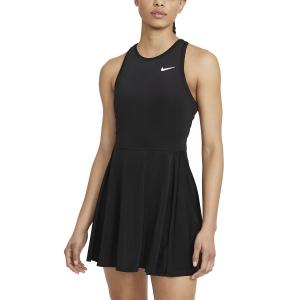 Vestito da Tennis Nike Court Advance Logo Vestito  Black/White CV4692011
