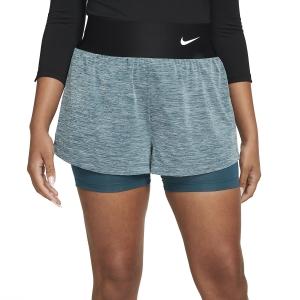 Faldas y Shorts Nike Court Advance Classic 2in Shorts  Dark Teal Green/White CV4792393