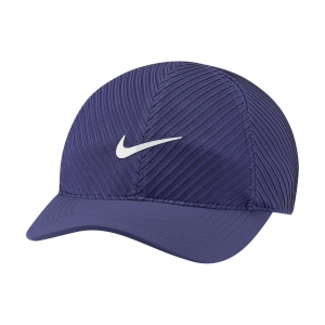 Tennis Hats and Visors Nike Court Advantage Cap  Dark Purple Dust DH2050510