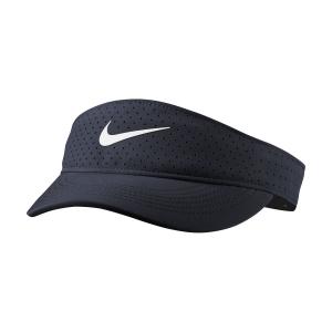 Cappelli e Visiere Tennis Nike Court Advantage Visiera  Obsidian/White CQ9334451