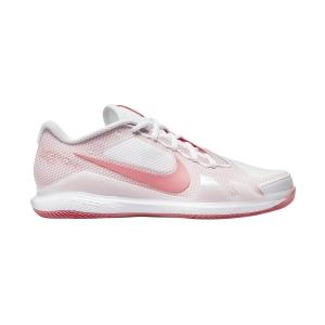 Scarpe Tennis Donna Nike Court Air Zoom Vapor Pro HC  White/Pink Salt CZ0222106