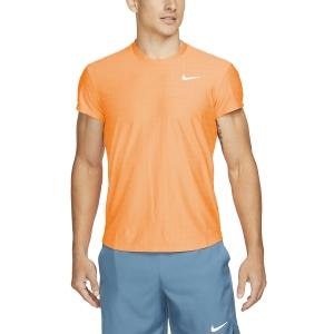 Camisetas de Tenis Hombre Nike Court Breathe Advantage Camiseta  Peach Cream/White CV5032811