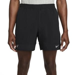 Pantalones Cortos Tenis Hombre Nike Court DriFIT ADV 7in Shorts  Metallic Black/Metallic Silver DM4286010