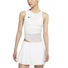 Nike Court Dri-FIT ADV Slam Top - White/Black