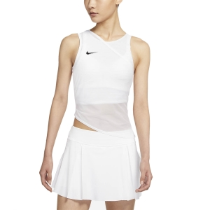 Women`s Tennis Tanks Nike Court DriFIT ADV Slam Tank  White/Black CV2796100