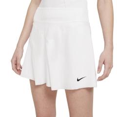 Nike Court Dri-FIT ADV Slam Falda - White/Black